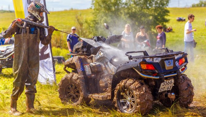 ATV cleaning