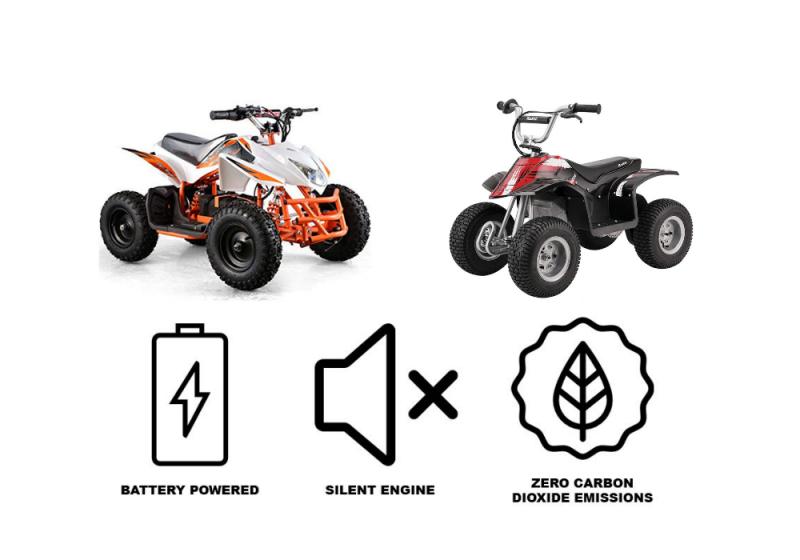 Kids electric ATVs